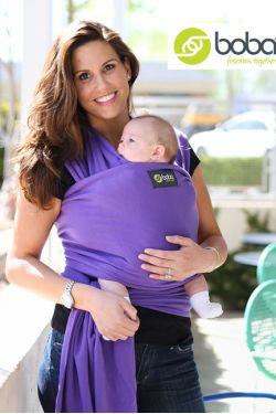 слинг-шарф Boba Wrap расцветка Purple