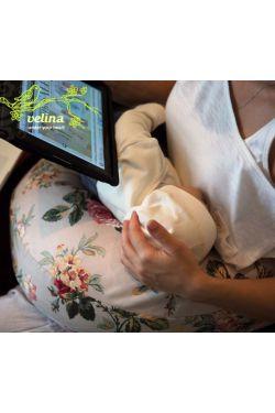 """Подушка для кормления ребенка Velina """"Розы"""""""