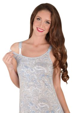 Ночная сорочка для кормления Mamaline