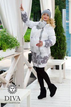 Слингокуртка зимняя Diva Outerwear Bianco