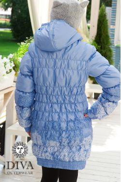 Слингокуртка  Diva Outerwear голубая