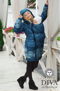 Слингокуртка зимняя Diva Outerwear Azzurro