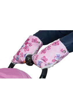 муфта рукавички для коляски бабочки