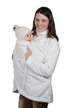 Слингокуртка «Мама Плюс» - молочный