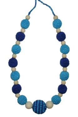Слингобусы сине-голубые
