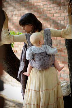 Слинг-шарф Ellevill Paisley Java с бамбуком