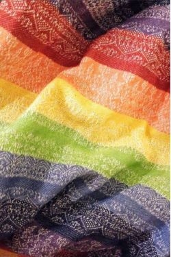 Слинг с кольцами Ellevill Zara Gaia Rainbow