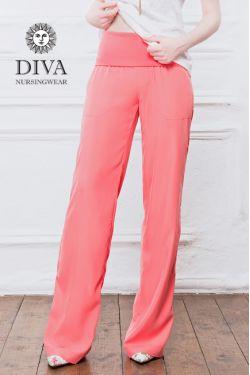 Брюки для беременных и родивших Diva Nursingwear Deborah, Corallo
