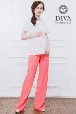 Брюки для беременных Diva Nursingwear Deborah, Corallo