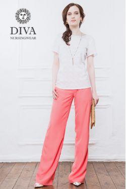 Брюки Diva Nursingwear Deborah, Corallo