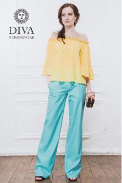 Брюки для беременных Diva Nursingwear Deborah, Menta