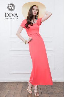 Платье для кормящих Diva Nursingwear Dalia, цвет Corallo
