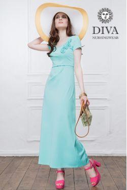 Платье для беременных и кормящих Diva Nursingwear Dalia, цвет Menta