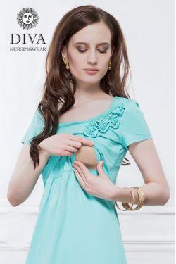 Платье для беременных Diva Nursingwear Dalia, цвет Menta
