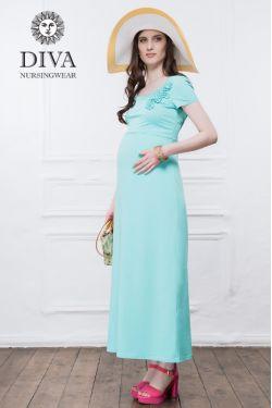 Платье для кормящих Diva Nursingwear Dalia, цвет Menta