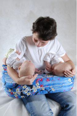 Подушка для кормления «Milk Rivers Twins»