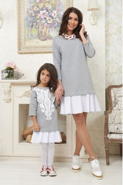 """Детское платье """"Турино"""" family look"""