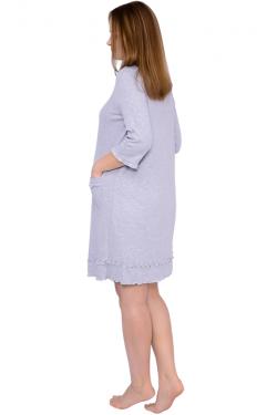 Халат для беременных и кормящих Л007