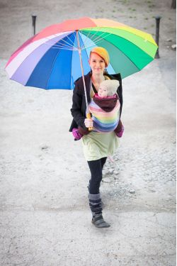 Слинг Ellevill Gaia Rainbow (хлопок)