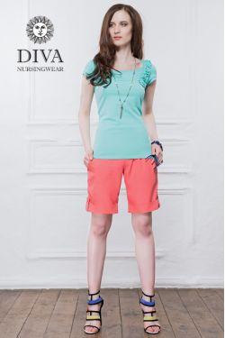 Шорты для беременных Diva Nursingwear Deborah, Corallo