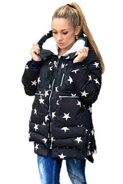 куртка для беременных звезды
