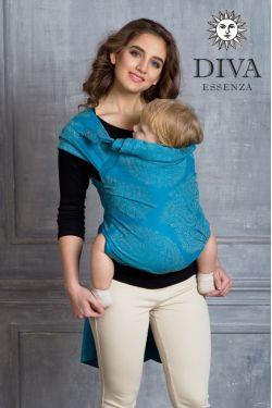 Май-слинг Diva Essenza Lago, размер Toddler