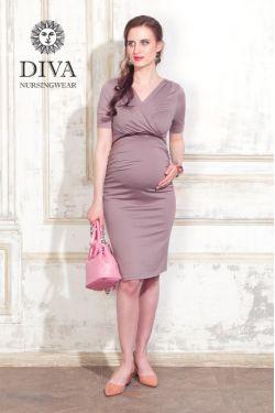 Платье для беременных Diva Nursingwear Lucia, цвет Cacao