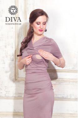 Платье для кормящих Diva Nursingwear Lucia, цвет Cacao