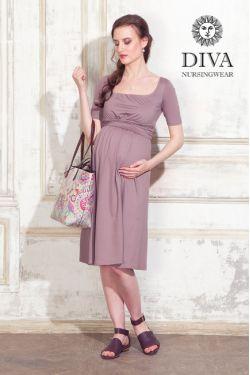 Платье для беременных Diva Nursingwear Stella, Cacao