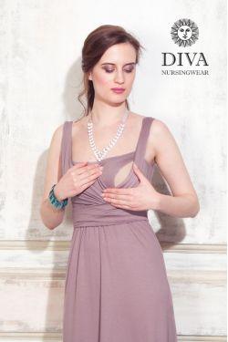 Сарафан для кормящих Diva Nursingwear Alba Maxi, Cacao