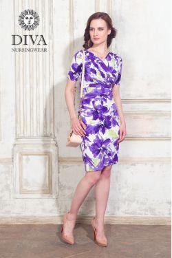Платье для беременных и кормящих Diva Nursingwear Lucia, цвет Iris