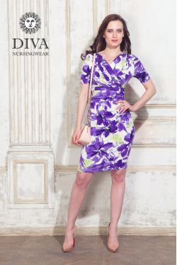 Платье для беременных Diva Nursingwear Lucia, цвет Iris