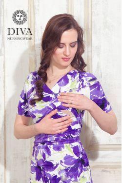 Платье для кормящих Diva Nursingwear Lucia, цвет Iris