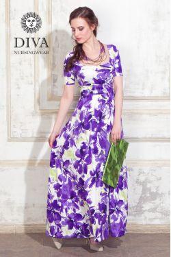 Платье для беременных и кормящих Diva Nursingwear Stella Maxi, Iris