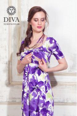 Платье для беременных Diva Nursingwear Stella Maxi, Iris