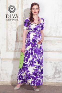 Платье для кормящих Diva Nursingwear Stella Maxi, Iris