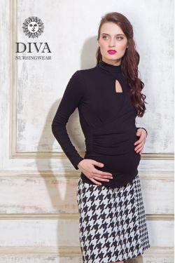 Блуза для кормящих и беременных Diva Nursingwear Maura, Nero