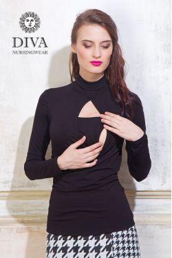 Топ для беременных Diva Nursingwear Maura, Nero