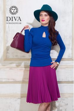 Топ для кормящих Diva Nursingwear Maura, Azzurro