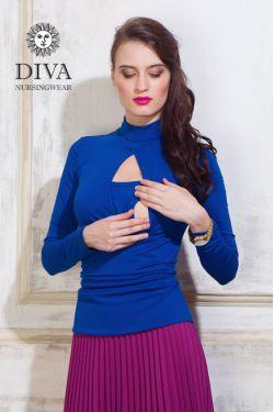 Блуза для кормящих и беременных Diva Nursingwear Maura, Azzurro