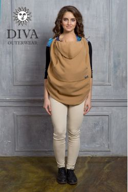 Слингонакидка из шерсти Diva Outerwear Camello (верблюжий)