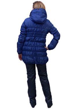 Куртка для беременных майя синяя