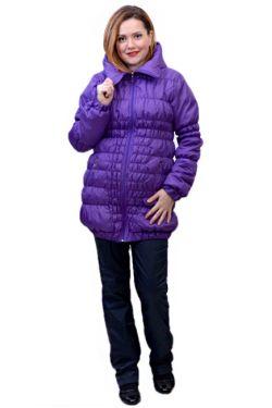 Зимняя куртка для беременных Майя сирень