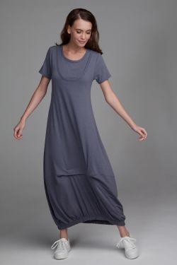 """Платье """"Тильда"""" серый туман"""