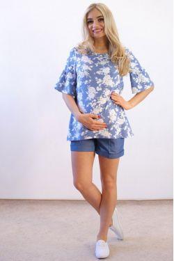 Блузка для беременных У-1001 ГР