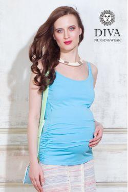 Топ для беременных Diva Nursingwear Natale, цвет Celeste