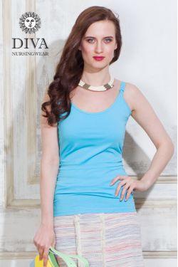 Топ для кормящих и беременных Diva Natale, цвет Celeste