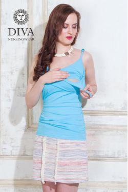 Топ для кормления Diva Natale, цвет Celeste