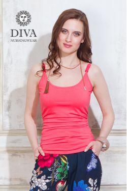 Топ для кормящих и беременных Diva Natale, цвет Corallo