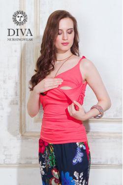 Топ для беременных Diva Nursingwear Natale, цвет Corallo